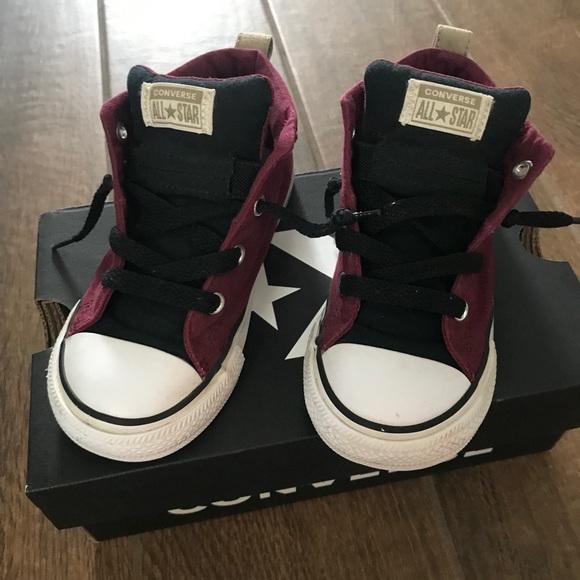 Converse Shoes | Boys Burgundy Toddler